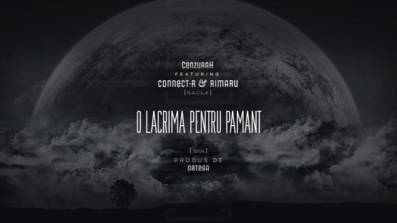 Cenzuah ft racla - O lacrimapentru pamant