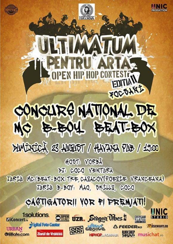 Ultimatum Pentru Artă (Focșani) - Summer Edition II