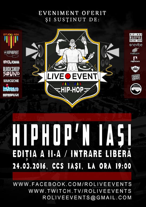 Poster Hip-Hop'N IASI editia a II-a