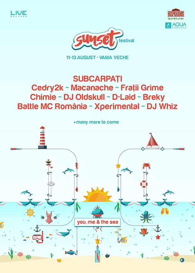 Sunset Festival at Vama Veche (11~13.08.2016)